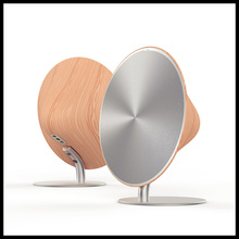 Design Perfect Appearance NFC Bluetooth Speaker Smart Touch Wooden sound Wireless Home Audio Mini loudspeaker box