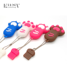 Full Capacity Easy Learning Claw USB 2.0 Colorful Cat Paws USB Flash Drive 4GB 8GB 16GB 32GB Pen Drive Pendrive Memory USB stick(China)