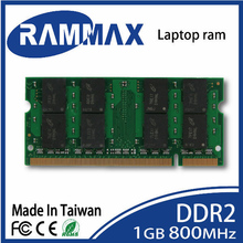 New sealed Laptop ddr2 Memory Ram 1GB SO-DIMM 800Mhz PC2-6400 200-pin/CL6 highly match with all brand motherboards of Notebook