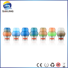Buy Sailing electronic cigarette VAPE unique design mouthpiece 510 Gourd Epoxy Resin Drip Tips multi-colors 10pcs for $35.99 in AliExpress store