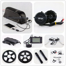 Bafang BBS02 48V 750W ebike motor 8Fun mid drive electric bike conversion kit with 48v 11.6ah li ion battery