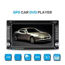 2Din 6.2inch Touch Screen Car Radio Doble Din Universal Auto Video Audio Player With GPS Navi Bluetooth Wince 6.0 OS USB