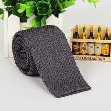 2014 new Dark gray tie knitted 5.5 cm necktie narrow slim knitting casual knits men free shipping no minimum order lots