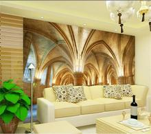 custom 3d photo wallpaper mural living room bed room 3d church dome zenith painting sofa TV background wall non-woven sticker