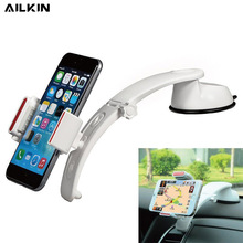 AILKIN Simple Car Phone holder Stand Universal GPS Car Navigator Sucker Stand for phone Adjustable Holder for phone in Car