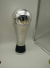 1:1 Real Life size 36cm MVP Golden Ball Trophy for THE Best Player Awards Golden Ball Soccer Trophy Mr Football trophy