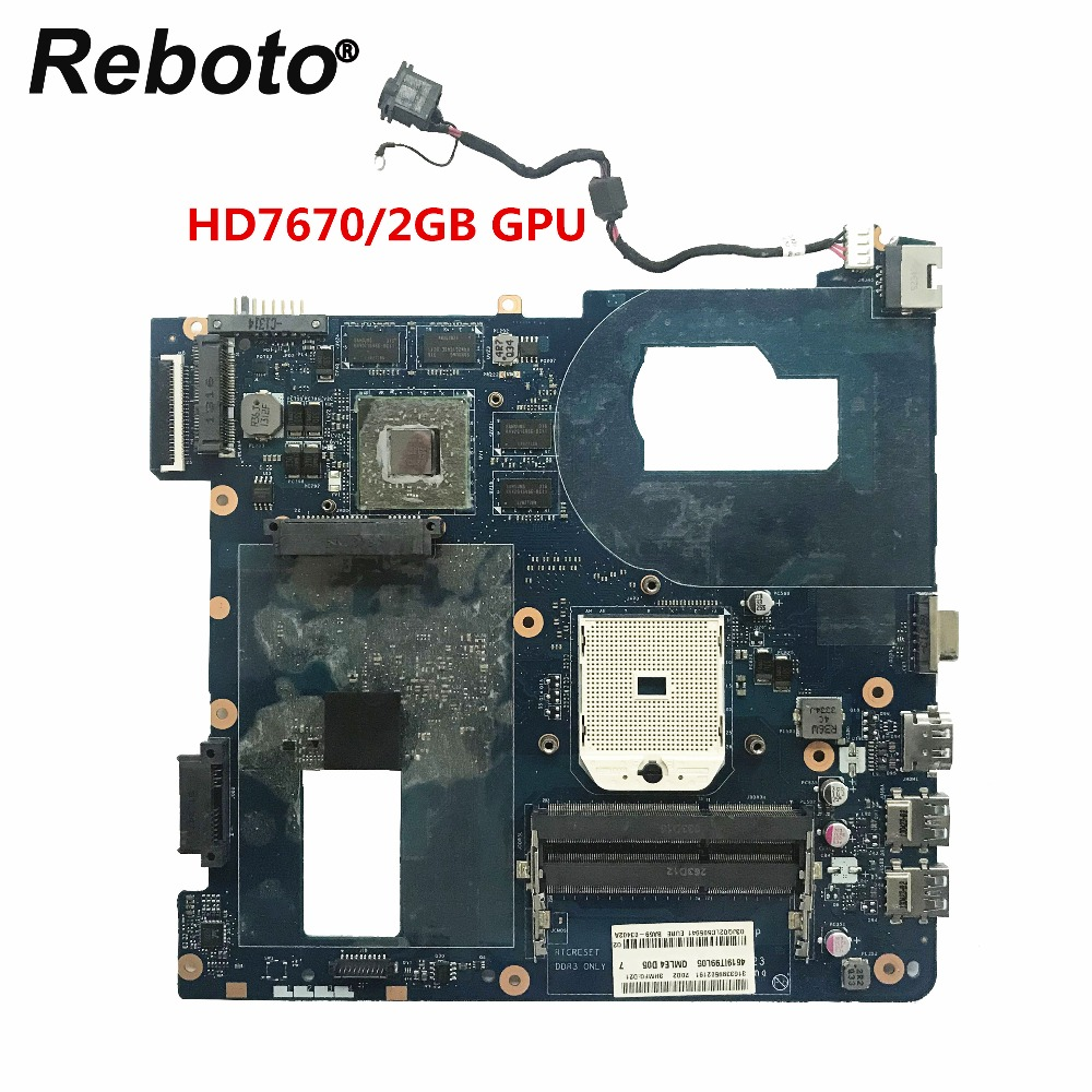 Reboto For Samsung NP355C4C NP355V5C Laptop Motherboard Mainboard HD7670 2GB LA-8863P BA59-03568A BA59-03402A 100% Tested