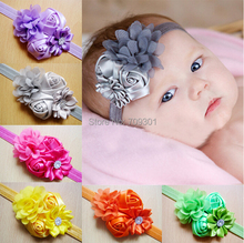 Baptism Headbands,Shabby Chic Headband,Newborn Headband 36pcs free shipping