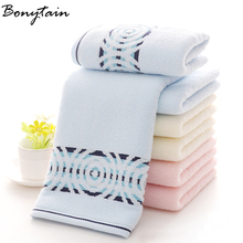 35*75cm Wholesale SoftCotton Bath Beach Bathroom Hand Hair Terry Towel for Kids Adults Home Textile House Cleaning Towel(China)