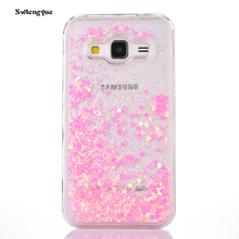 Buy Dynamic Printing Bling Glitter Liquid Cartoon Bear Cover sFor Samsung Galaxy Core Prime G360 G3606 G3608 Phone Cases Capa Coque for $2.55 in AliExpress store