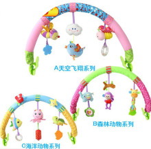 50cm Baby Rattle Teether Stuffed Plush Doll Teeth bb devices IC stroller crib Bed Folder hanging Toy Education Bell Ring Infant