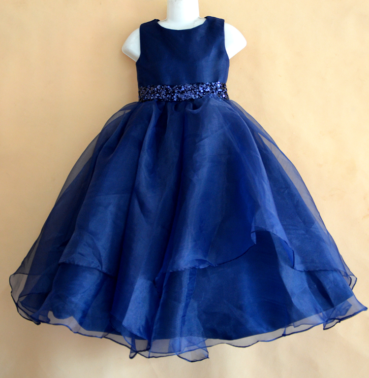 Compare Prices on Girls Royal Blue Flower Girl Dress- Online ...