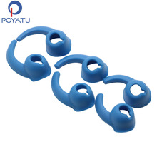 POYATU Blue Earhook Silicone For Beats tour 2.0 tour 2 Earphone Replacement Earbuds Ear Hooks Earhook Headset Earphone(China)