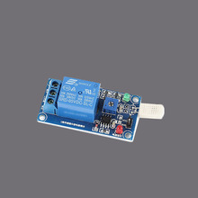 Sindax DC5V 1 Channel Red and Green LED Light Humidity Detection Sensor Relay Module