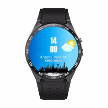 "New Arrival KW88 android 5.1 Bluetooth SmartWatch phone 1.39"" 400*400 3G wifi 2.0MP Camera Heart Rate Gravity Sensor Pedometer"