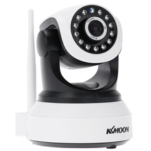 KKMOON HD 720P Wireless WiFi IP Camera H.264 IR-Cut Night Vision Audio Recording Infrared CCTV Onvif Indoor Security Camera