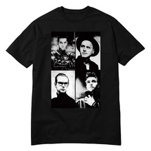 USAprint Hot Tee Shirt Depeche Mode DM New T-shirt Culture Fashion Pop Rock Men Women Brand Clothing Hip Hop Summer Short Sleeve