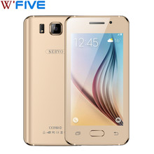 Original Phone SERVO Note 5i 4.5 inch Smartphone dual sim Spreadtrum6820 Android 4.4.2 2.0MP Google Play GSM Mobile phones Black