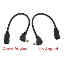 90 Degree Up & Down Direction Angled Mini USB 5 Pin Male to Female Extension Cable 0.2m 20cm MiniUSB  adapter short Cable