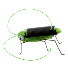ABWE Solar Powered Grasshopper 5 pieces/pack(China)