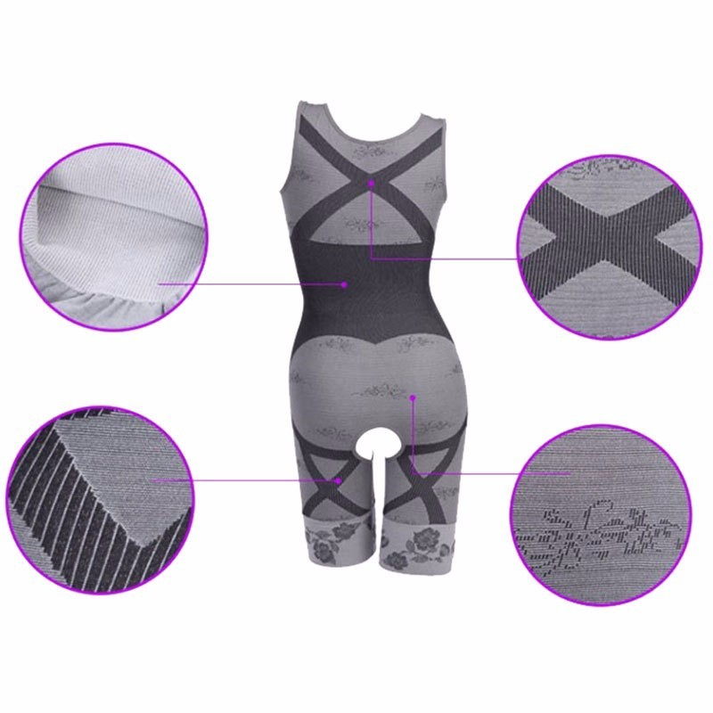 2016-Women-s-High-Quality-Slim-Corset-Slimming-Suits-Body-Shaper-Charcoal-Sculpting-Underwear-6-Size (4)