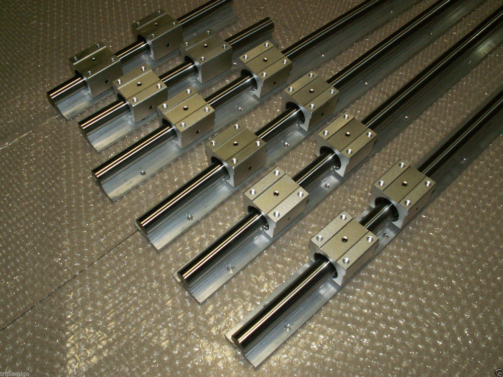 4pcs SBR25 -L700/800mm Linear rail + 8pcs SBR25UU Bearing Block for cnc<br>