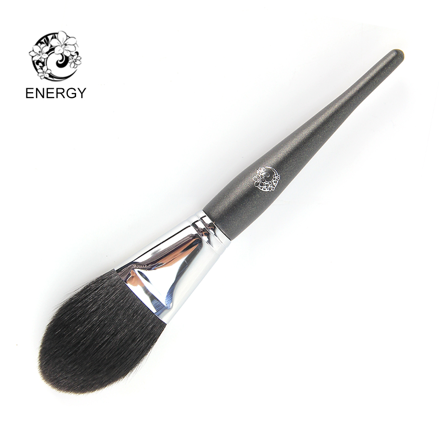 ENERGY Brand Professional Goat Hair Flat Round Powder Brush Make Up Makeup Brushes Pinceaux Maquillage Brochas Maquillaje M201<br>