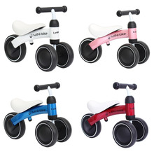 Children Balance Bikes Scooter Baby Walker Infant Cycling No Foot Pedal Driving Bike Gift for Kids three wheel Motorbike(China)