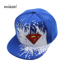 miaoxi New Fashion Boy Cap Children Baseball Caps Child Adjustable Character Mouth Love 4 Colors Snapback Hip Hop Summer Hat