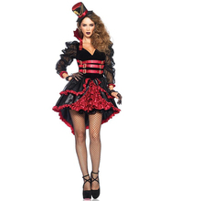 Gothic Sexy Costume Halloween Dress Costume Sexy Witch Vampire Costume Women Masquerade Party Halloween Cosplay Costume W850344