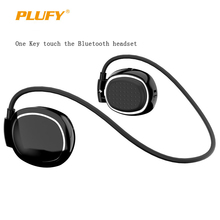 PLUFY L68 Touch Sports Bluetooth Headset Ear Hook Noise Cancelling Bluetooth Earpiece Running Earbuds Stereo Earphone For Iphone