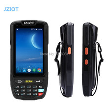 JZIOT Portable Android PDA 1D 2D Scanner Mobile Data Collector Terminal With Charger 4'' Screen 16G ROM/Wifi/BluetoothNFC Reader(China)
