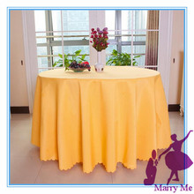 Hot Sale 70'' Round Table Cloth Polyester Plain Table Cover for Wedding Events &Party Decoration(Supplier)