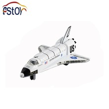 US NASA Space Shuttle Discovery Alloy Diecast Model Columbia Space Explorers aircraft open solar panels Space Ship toy vehicles(China)