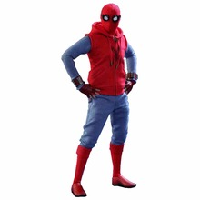 Newest Selling Spider man hero returns COSPLAY costume suits red and blue sets