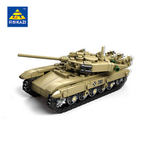 KAZI Military Army Building Blocks DIY World War German Tanks Bricks Enlighten Eductional Toys For Kids Compatible Legoed Toy(China)