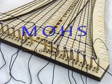 updated version ancient sailing model  rope ladder weaver rope crochet  COMBO wood scale model ship wooden sailing ship tools