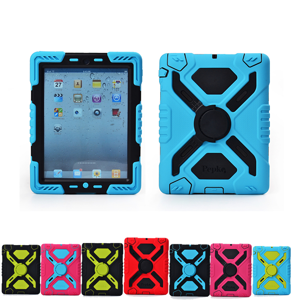 Pepkoo Cover For Ipad mini 3 2 1 Cases Spider Extreme Military Heavy Duty Waterproof Dust Shock Proof Case For iPad mini 2 3 1<br><br>Aliexpress