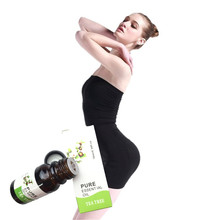 100% Powerfull Slimming Essential oil Diet Products Tea plant Weight Loss Cream Fat Burning Essential oils 10ml(China)