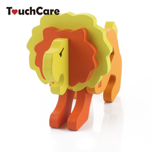Clearance Cartoon Animal Baby Toys Owl Model 3D Puzzles Wooden Puzzles Children Learning Educational Toys Kids Handmade DIY Toys(China)