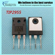 10pcs free shipping TIP2955 TO-247 Darlington Transistors NPN Darlington new original(China)