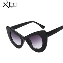 2016 New Big Frame Sunglasses Women Cat Eye Glasses Fashion Brands Woman Sun glasses Vintage Oversized Gafas Feminino UV400