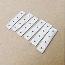 5 pcs perforated holes iron sheet iron accessories Robot DIY small production model Material