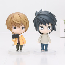 4.2'' Death Note Yagami Light Killer Nendoroid Action Figure Model Toy L Lawliet Black Butler Kuroshitsuji Ciel PVC Figures doll