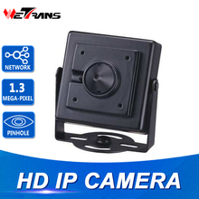 Mini HD Camera IP CMOS Sensor 720P HD 960P Metal Case Onvif POE IP 3.7mm Pinhole Lens Mini CCTV Security Pinhole Camera