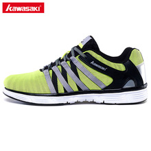 2017 Genuine Kawasaki Brand Mens Running Shoes Cushioning Breathable Mesh Women Sneakers Sports Athletic Shoes K-815(China)