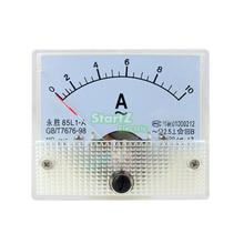 AC Analog Meter Panel 10A AMP Current Ammeters 85L1 0-10A Gauge(China)