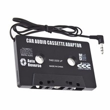 Автомобильный MP3-плеер Casette в Aux Walkman Casette, mp3-плеер, адаптер для iPod, iPhone, Android, AUX кабель CD, разъем 3,5 мм