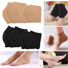1 Pair SPA Moisturising Gel Pad Heel Socks Cracked Foot Dry Hard Anti-Cracking Skin Leg Protector Women Men Feet Care Tool
