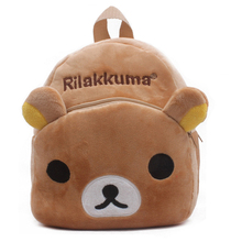 Cyjmydch Soft Plush Backpack Toy For Kids Rilakkuma Bag Kids Baby Bags Children Backpacks Kid Satchel Mochila For 1-3Years